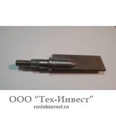 Нож для машины для вытопки жира Я8-ФИБ (неподвижный)